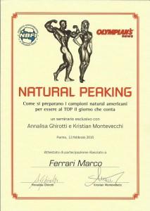 Seminario Natural Peaking