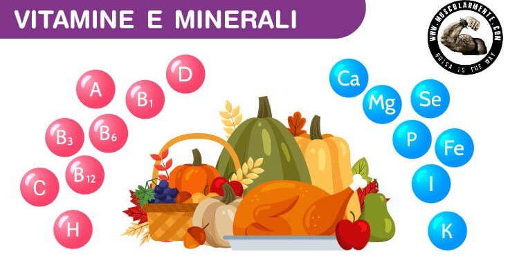 Vitamine, Minerali, Oligoelementi