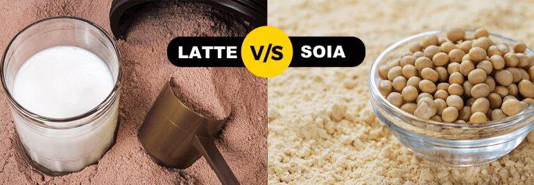 confronto proteine del latte e proteine della soia