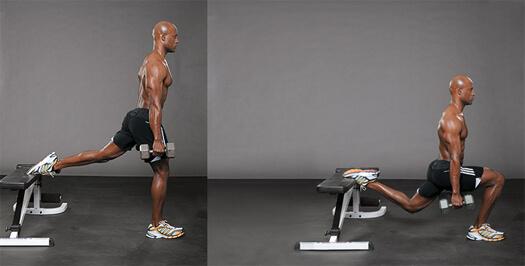 dolore allinguine dopo gli squat