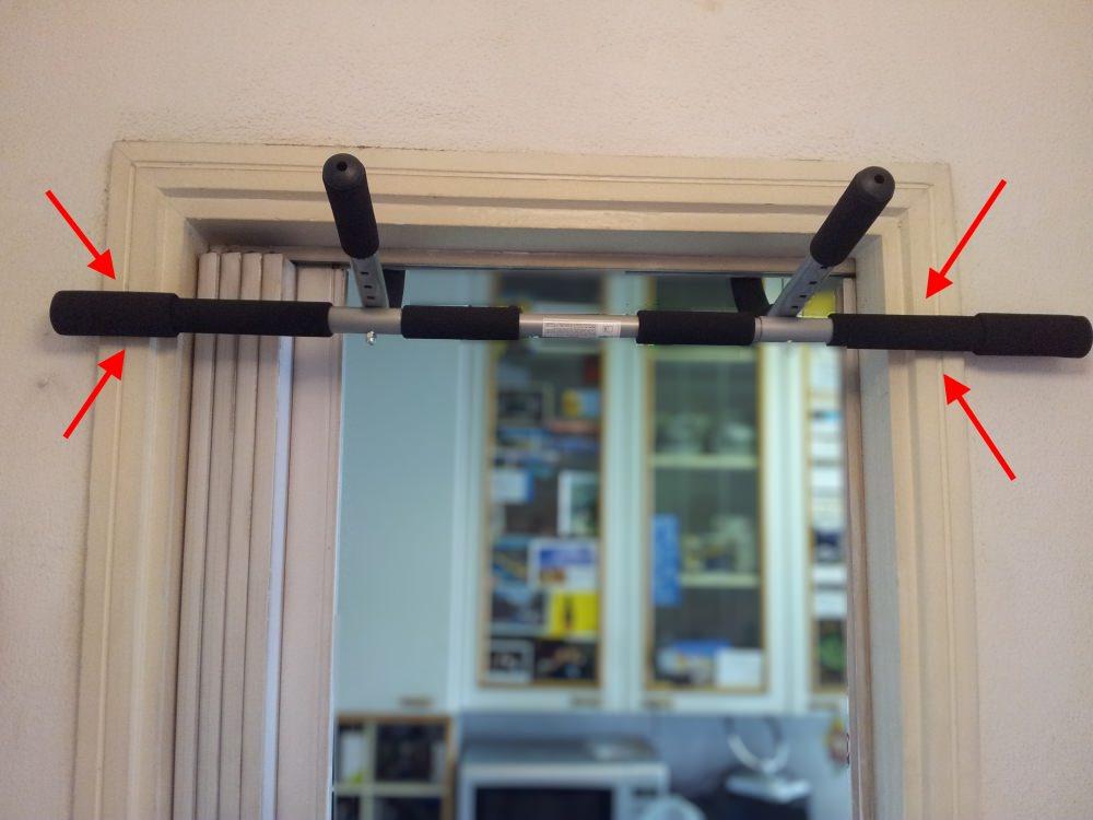 Trazioni alla sbarra in casa iron gym e barra fissa - Costruire palestra in casa ...