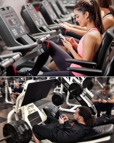 cellulare-in-palestra