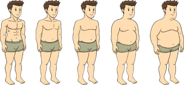 quanto velocemente perde la percentuale di grasso corporeo