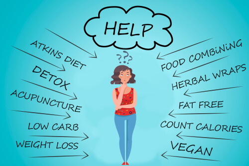 donne troppe diete